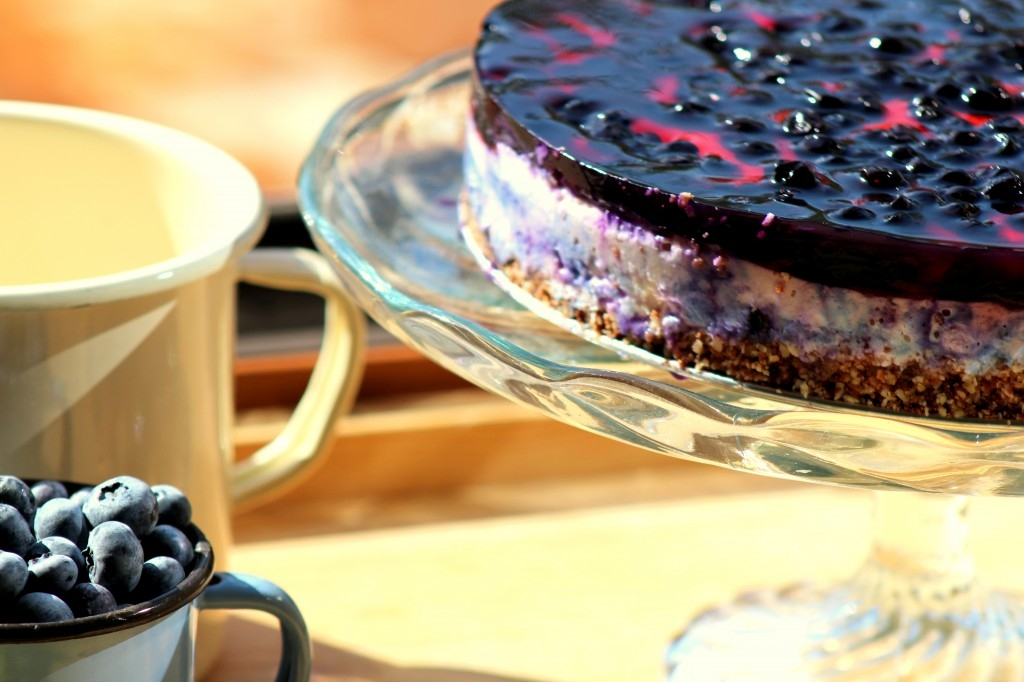Nostalgická čučoriedková tortisko (Blueberry cake recipe)