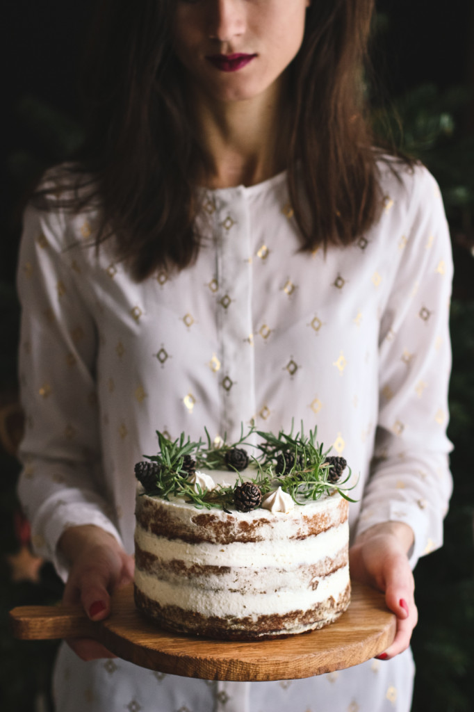 Vianočná mrkvová torta