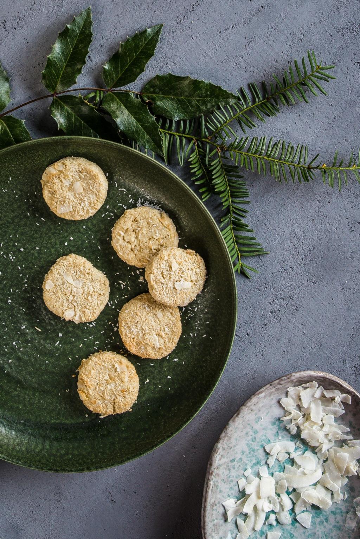 Vianočné špaldové kokosky