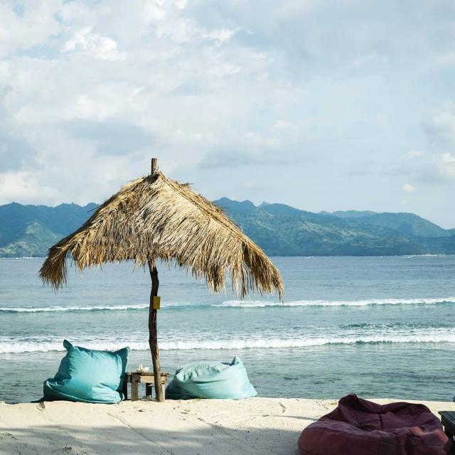 Den stvrty na Bali teda uz na Gili Meno ostrovehellip