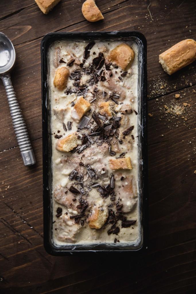 Hriešne dobrá tiramisu zmrzlina