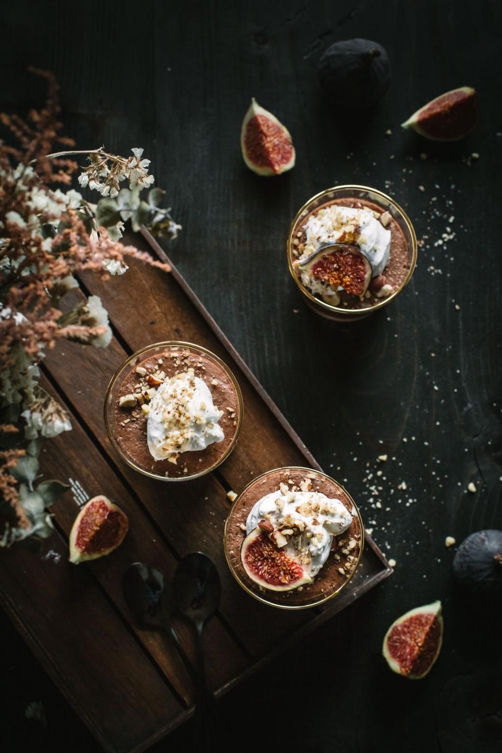 Čokoládový mousse (vegan)