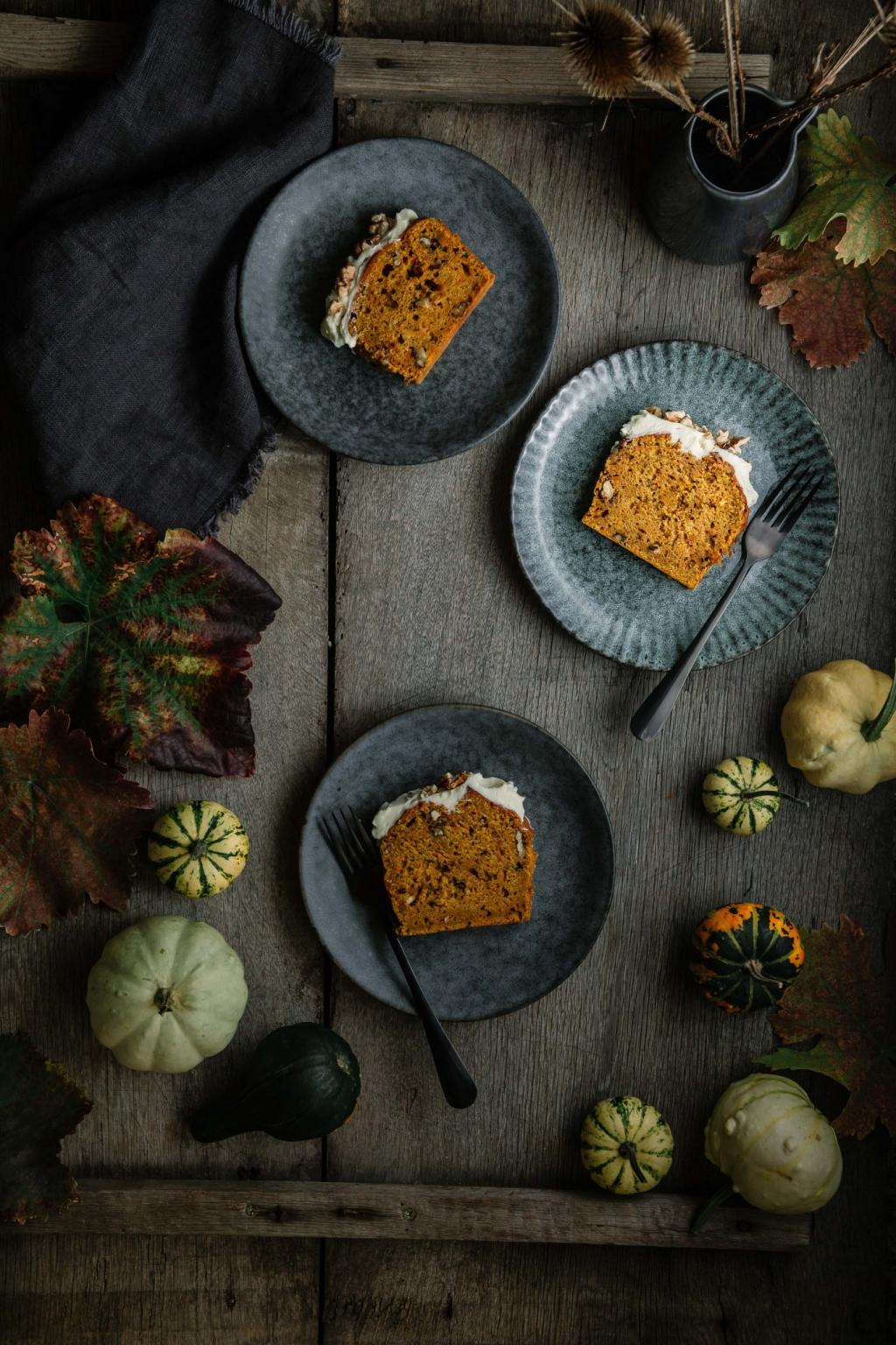 Tekvicový koláčik s mrkvou