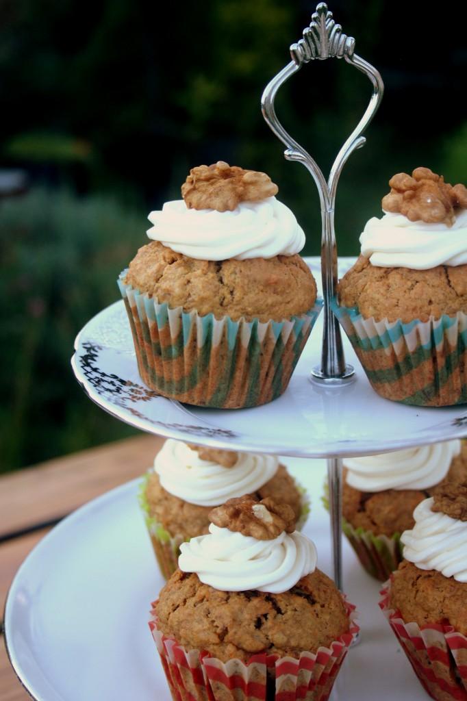 Cuketkové muffiny s mrkvou (Zucchini carrot muffins)