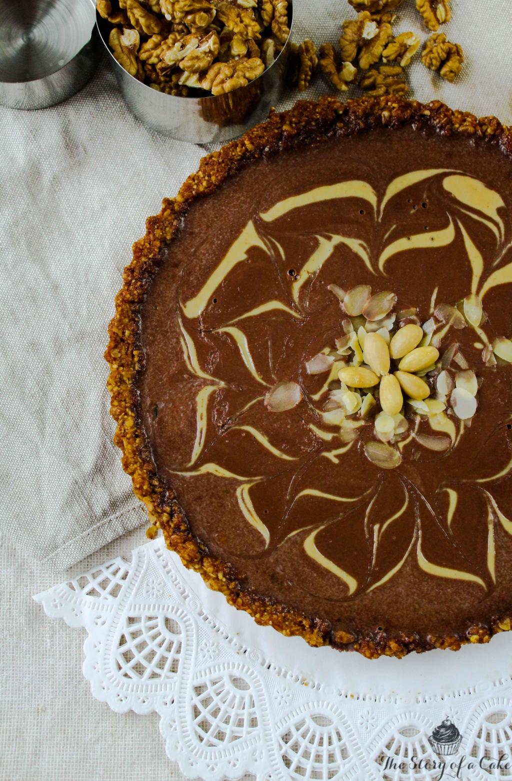 Čokoládová tahini torta (aj vegan alternatíva)