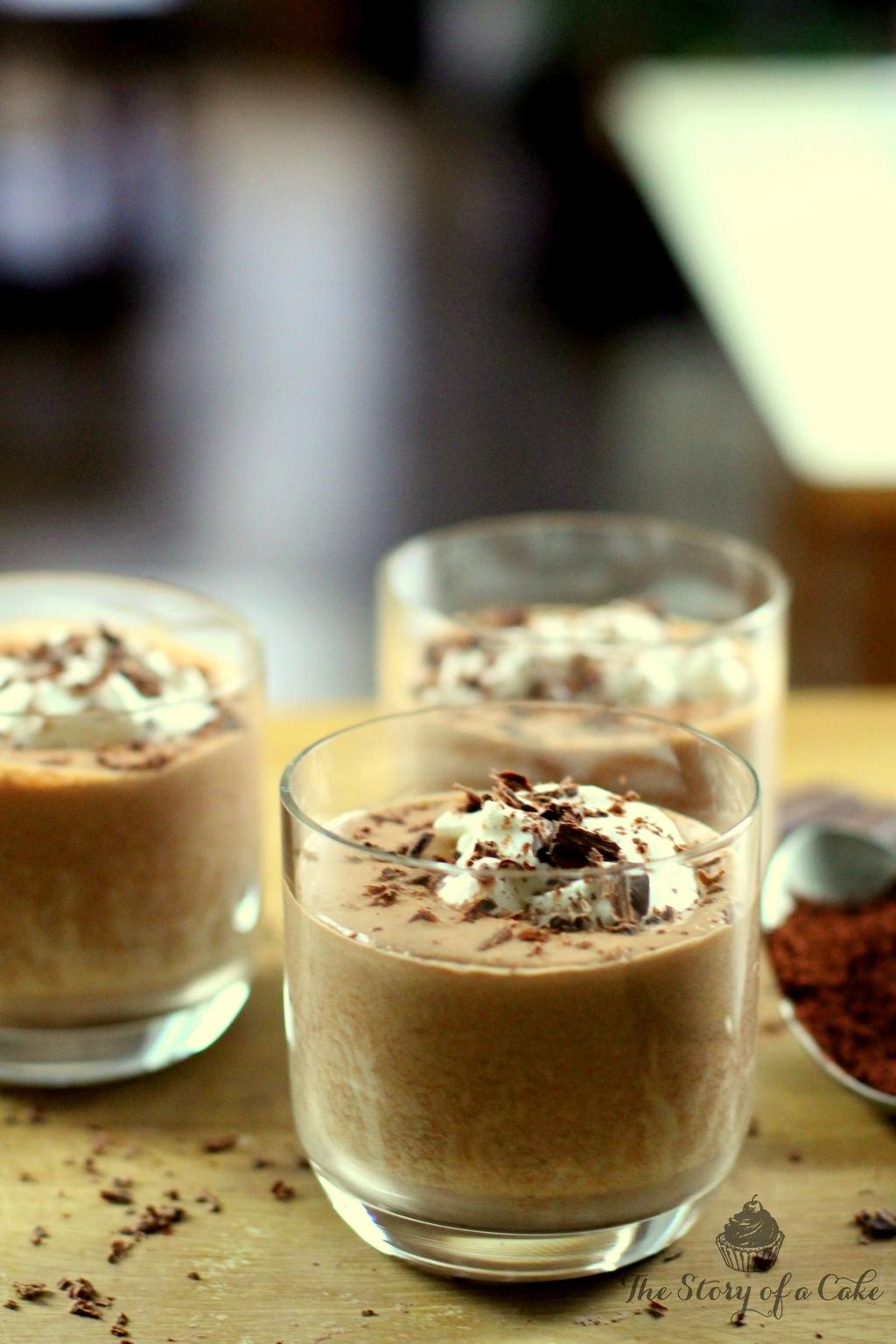 Espresso čokoládová pena