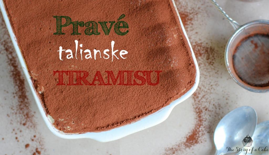 Pravé talianske tiramisu