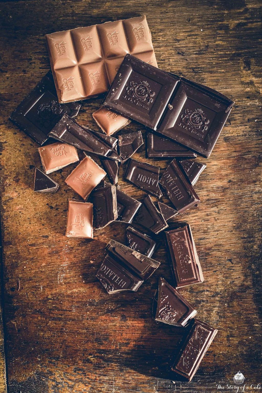 Cukinové brownies čokoládová smršť