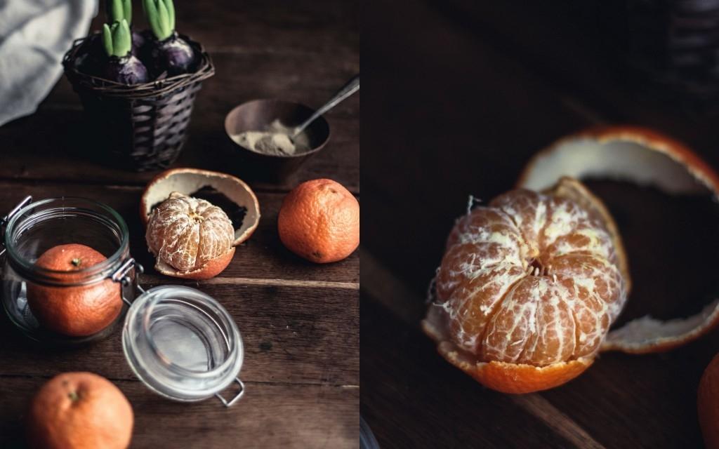 Mandľová torta s ricotta krémom a mandarínkami (bez múky)