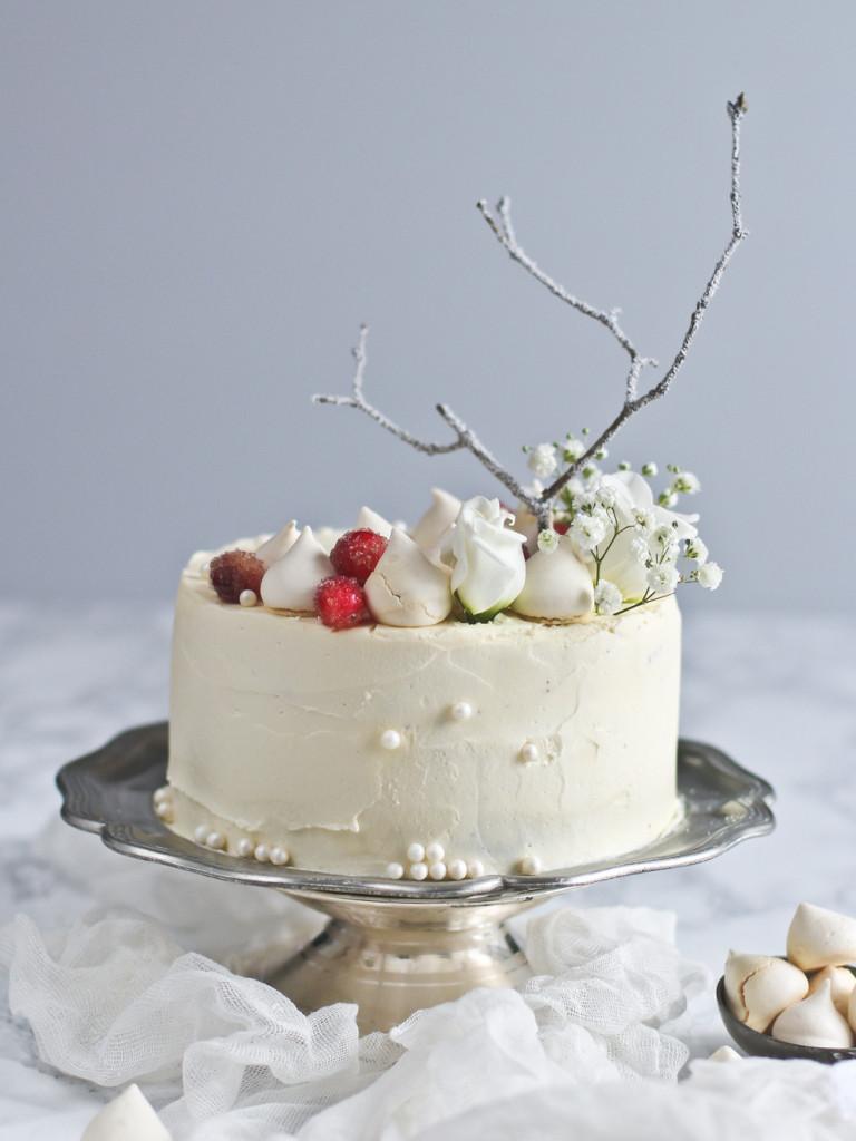 Kokosová silvestrovská torta
