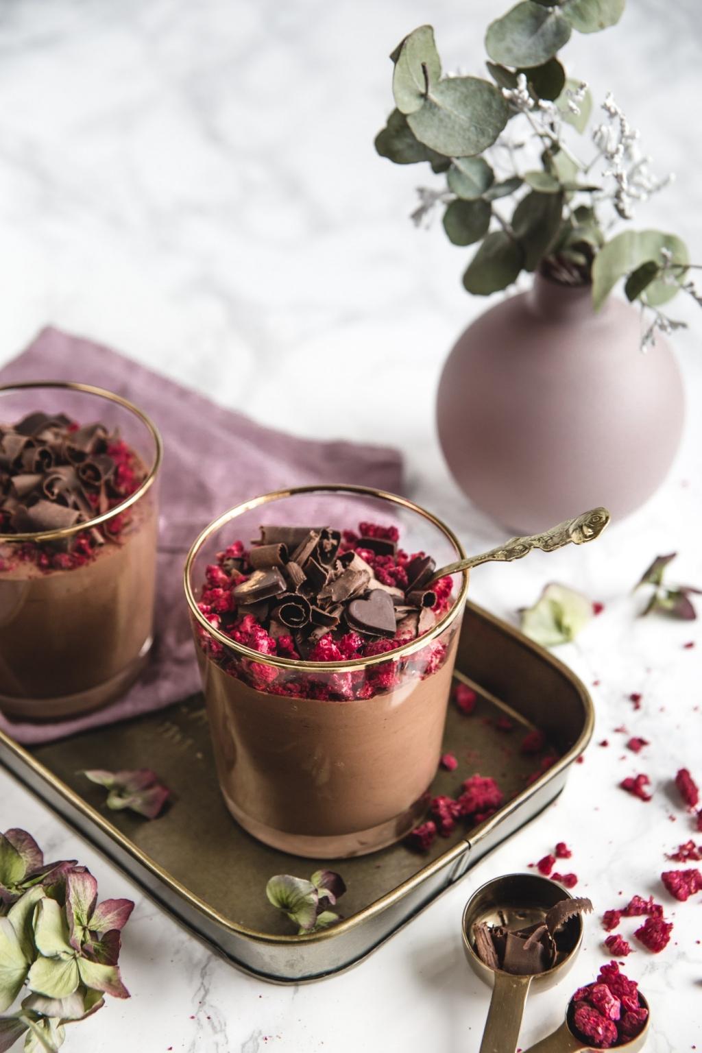Valentínska čokoládová pena s chilli