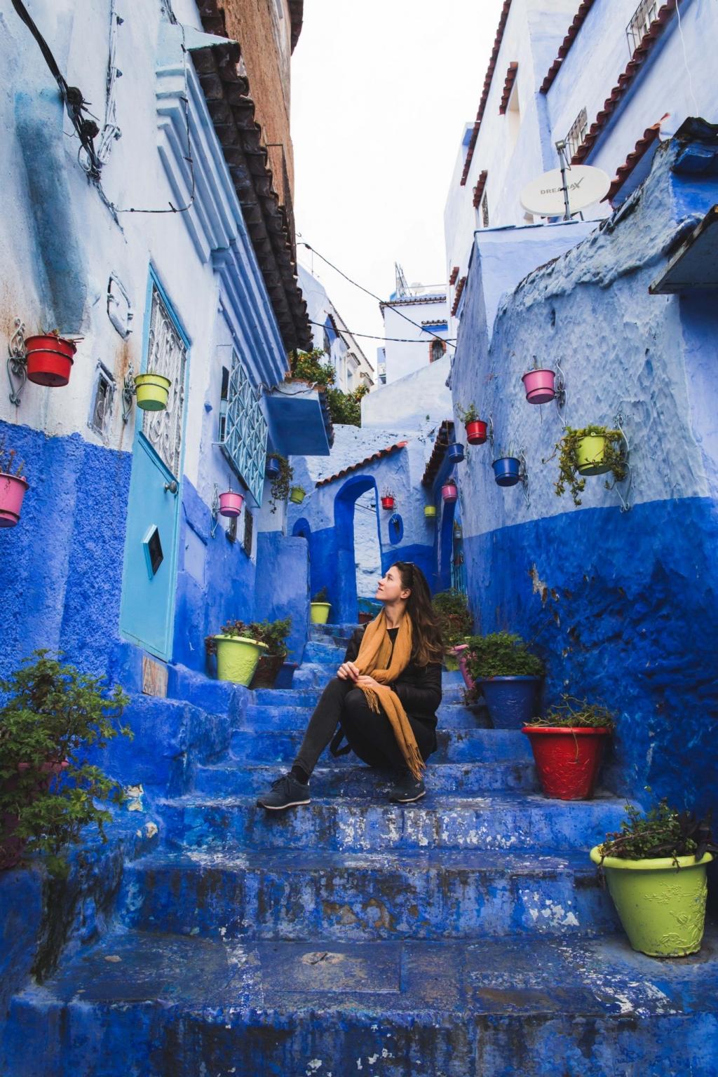 Tisíc odtieňov modrého mesta Chefchaouen