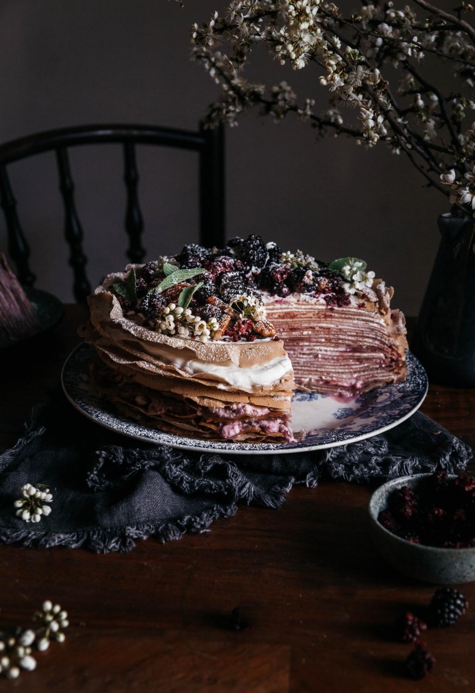 Palacinková torta z pohánkovej múky